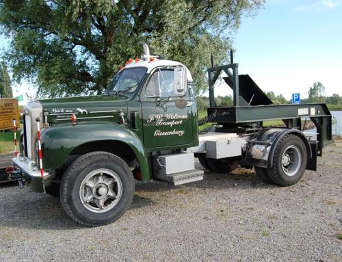 Vintage tractors & trucks in Varik op 2e Pinksterdag